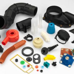 Customised rubber part
